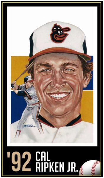 Cal Ripken Jr - Roberto Clemente Hall of Fame