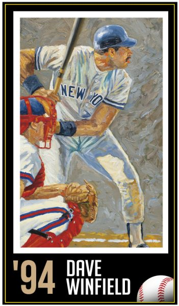 Dave Winfield - Roberto Clemente Hall of Fame