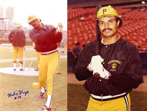 Eddie Vargas, a native of Puerto Rico and former Major League player from the Pittsburgh Pirates