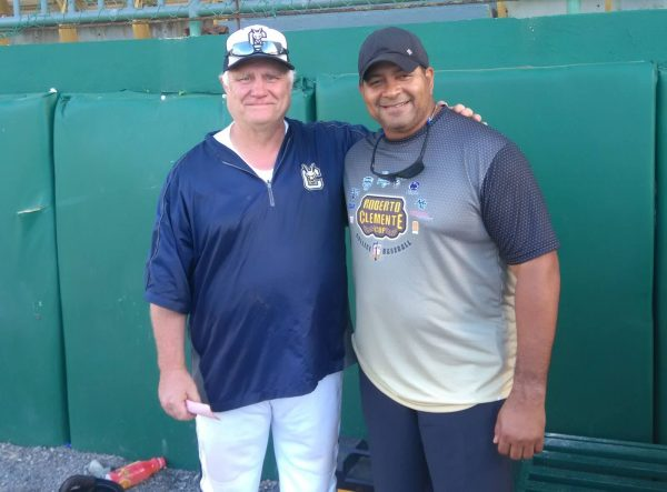 Coach Smith with Mr. Luis Clemente (Photo by Francesco Palumbo)