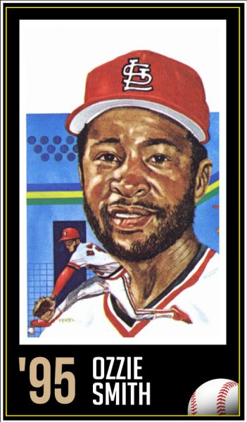 Ozzie Smith - Roberto Clemente Hall of Fame