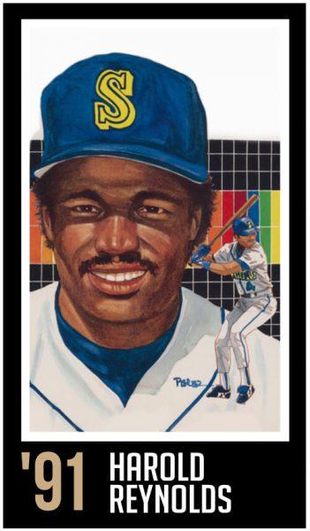 Harold Reynolds - Roberto Clemente Hall of Fame