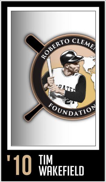 Tim Wakefield - Roberto Clemente Award Winner